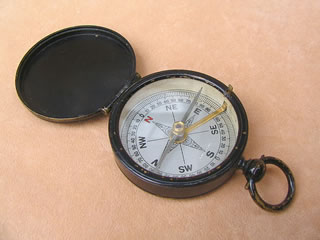 Lennie Edinburgh pocket compass circa 1890