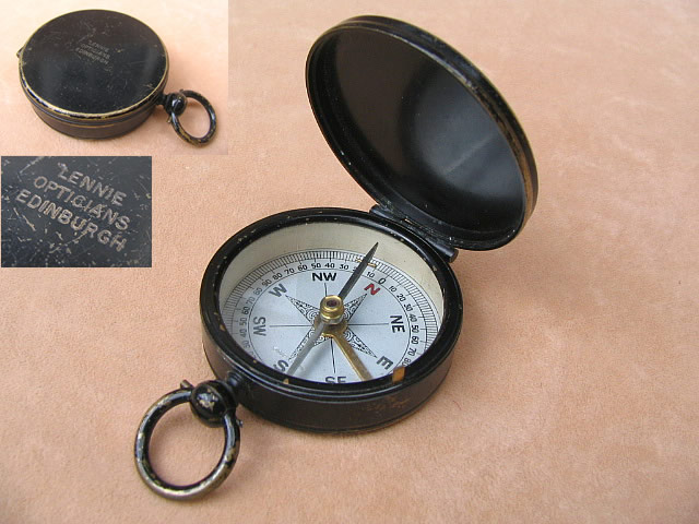 19th century pocket compass - Lennie Edinburgh