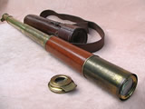 Early 19th century Improved Day or Night Telescope signed Richardson London