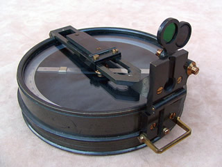 1920's Prismatic artillery compass by E R Watts