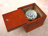 Unsigned Francis Barker hunter cased pocket compass