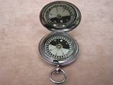 MK V British Officers hunter cased pocket compass