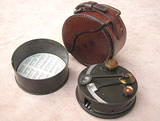 Elliott Brothers London pocket box sextant with case