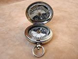Early MK V Officers pocket compass by Short & Mason dated 1910, with low serial number 2981, & card dial.