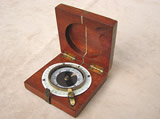 WW1 British Army marching compass by J Wardale