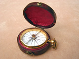 Rare 19th century pocket compass by John Benjamin Dancer, Manchester.