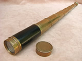 Rare seven draw pocket telescope signed Tagliabue London - circa 1820