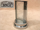 Rare 1930's Art Deco desk barometer by Zeiss Ikon Berlin