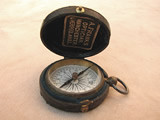 19th century pocket compass by Aubrey Franks