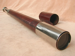 Single draw telescope made for The Society of Miniature Rifle Clubs