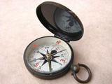 Francis Barker & Son hunter cased pocket compass circa 1910