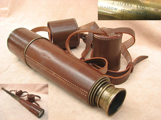 WW2 Scout Regiment telescope by H C Ryland & Son.