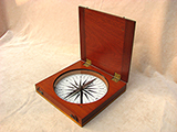 Francis Barker & Son educational desk top compass