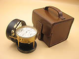 Negretti and Zambra London anemometer in leather case