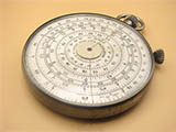 Rare 1920's Fowler's Type H circular slide rule/calculator