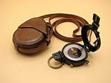 WW2 MK.IX Prismatic compass by the Canadian Kodak Company dated 1943