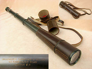 Powerful 25x-40x variable magnification field telescope by Broadhurst Clarkson