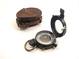 WW1 Verner's Pattern MK VIII prismatic marching compass by F. Darton & Co.