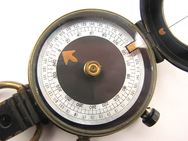 WW1 Verners MKV III marching compass by F. Darton & Co, London