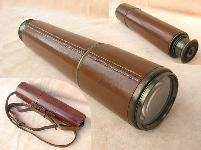 WW2 Scout Regiment MK II field telescope by Broadhurst Clarkson