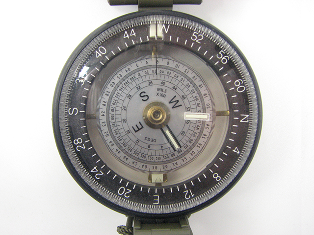 Francis Barker M88 prismatic compass with dual use dial