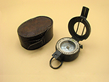 T.G. Co. MK III WW2 prismatic marching compass