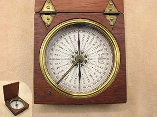 Hot Sale Antique Victorian Baker High Holborn London Leather Cased Pocket Barometer C1890 Maritime