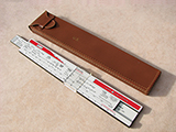 World War 2 case load adjuster sliderule by Cox & Stevens