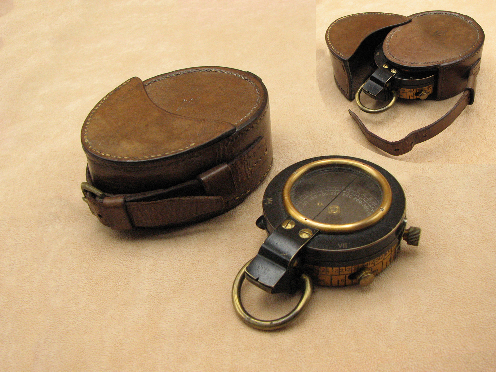 Rare WW1 Francis Barker Mk VII compass made for the Indian Army7