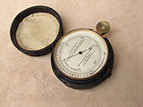 Late 19th Century Surveyors pocket barometer signed A & N.C.S.L.