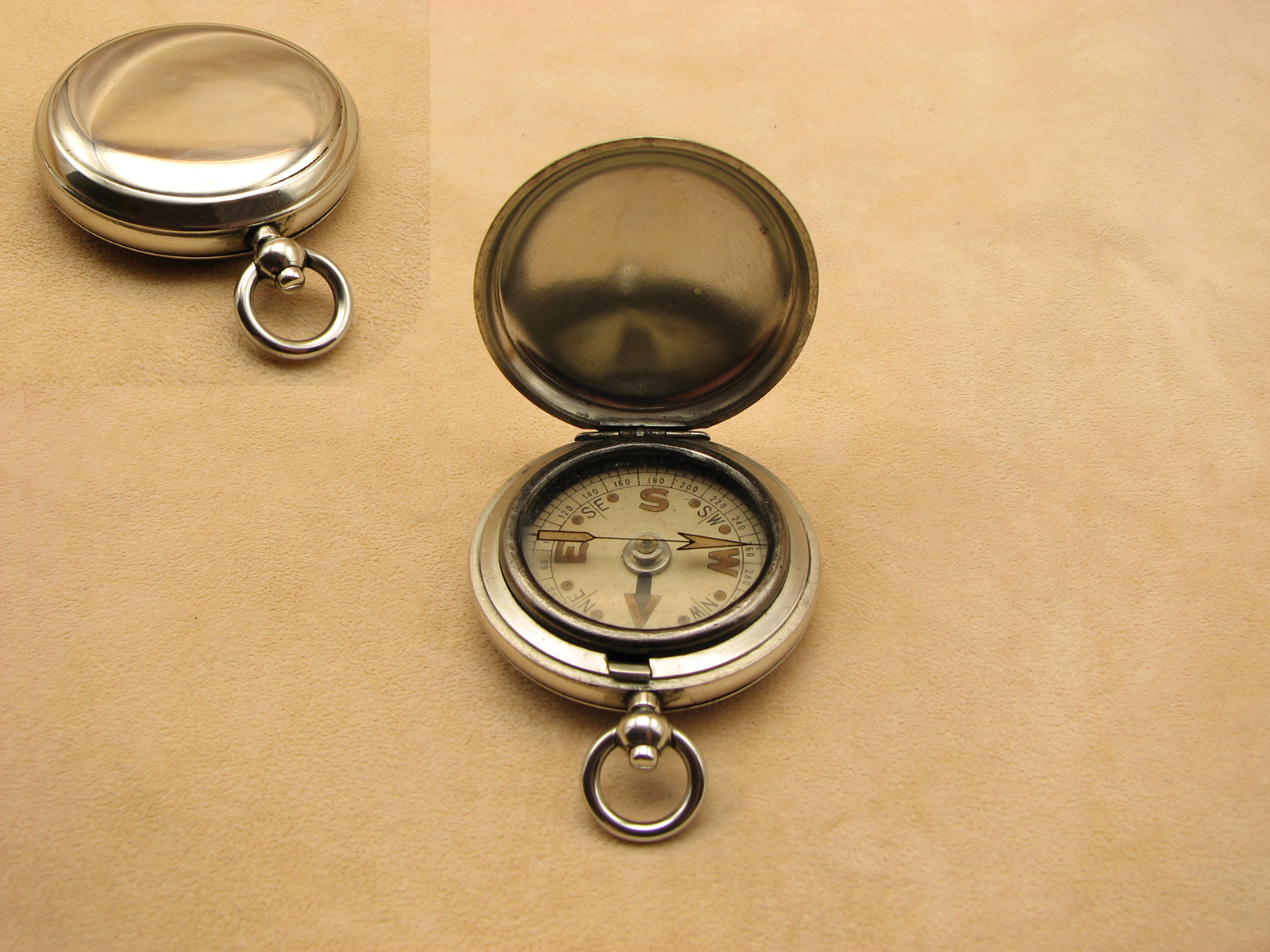 Pre WW2 Hunter cased MK VII pocket compass circa 1930
