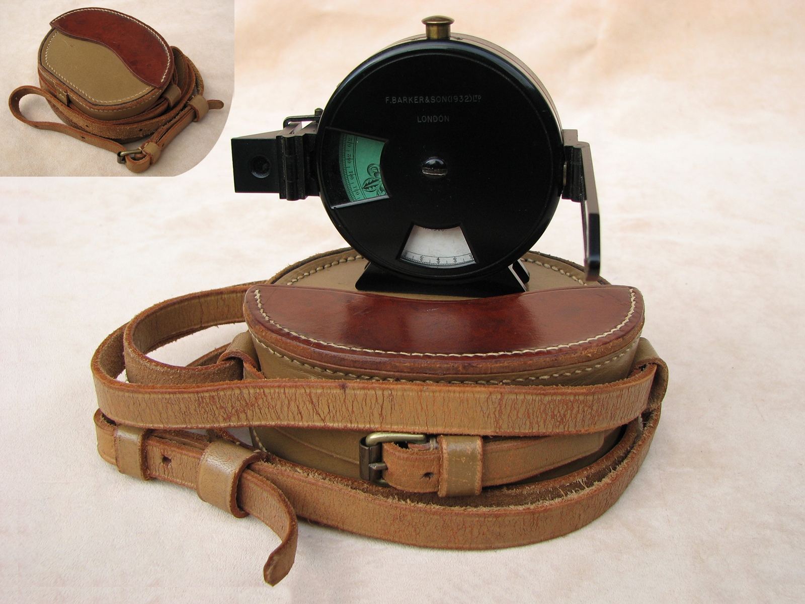1930s Francis Barker & Son Angle of Sight instrument