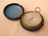 Antique pocket barometer altimeter by Army & Navy Co-operative Society