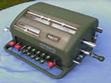 Vintage Facit NTK mechanical calculator