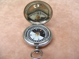 Dollond Hunter cased MK V style pocket compass, circa 1920.