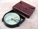J H Steward compass with clinometer