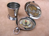 Dalvey of Scotland Expedition cup with compass
