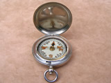 WW2 Officers MK VI pocket compass by Francis Barker & Son, dated 1940