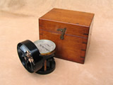 Antique anemometer by F Robson Newcastle upon Tyne
