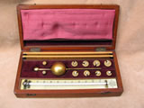 Sikes Hydrometer set by Flavelle of Sydney & London