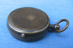 Newton & Co, London, pocket compass with MOP dial