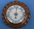 Rope twist barometer by J Hall Opticians Bradford