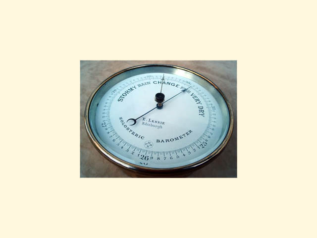 19th Century Holosteric barometer