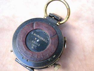 WW1 Verner's Mk VIII prismatic marching compass