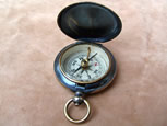 Early 20th C pocket compass