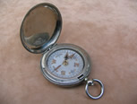 1918 hunter cased military pocket compass by Dennison