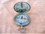Dennison military compass with Masonic symbols