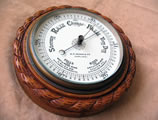 Large rope twist aneroid barometer