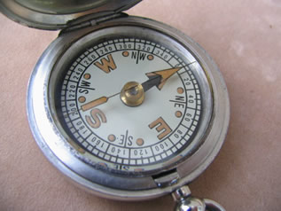 Close up of floating dial