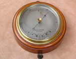 Vintage Dollond aneroid wall barometer